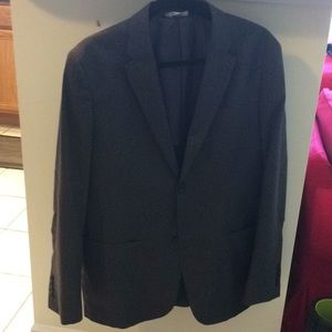 Men's charcoal sport coat 40R